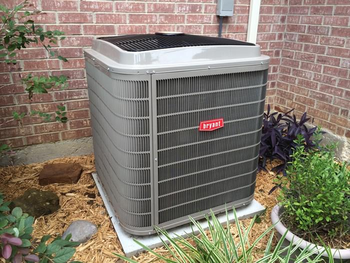 Bryant Evolution 4T Air Conditioning Condenser Installation